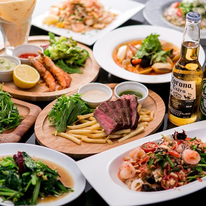 本格タイ料理と創作エスニック