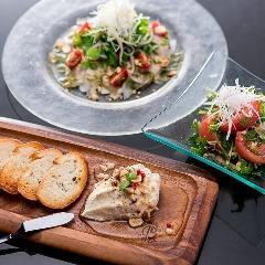 タイ屋台料理と<br>オリジナル創作料理